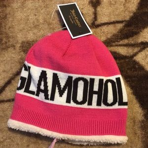 Juicy Couture Beanie Glamoholic NWT